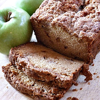 Dutch Apple Bread.