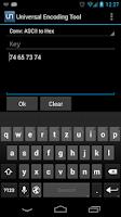 Screenshot of Universal Encoding Tool