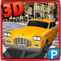Duty Taxi Driver 3D Parking icon
