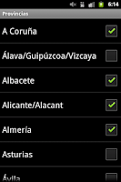 Screenshot of InfoVías