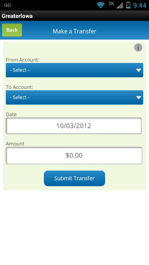 Greater Iowa Mobile Banking - screenshot
