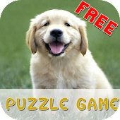 Golden Retriever Puzzle Game