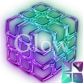 GlowPurple Next Launcher Theme