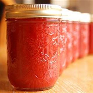 Rhubarb Strawberry Jam.