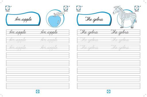 玩書籍App|Cursive Writing Simple Words免費|APP試玩