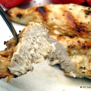Easy Grilled Chicken Strips.