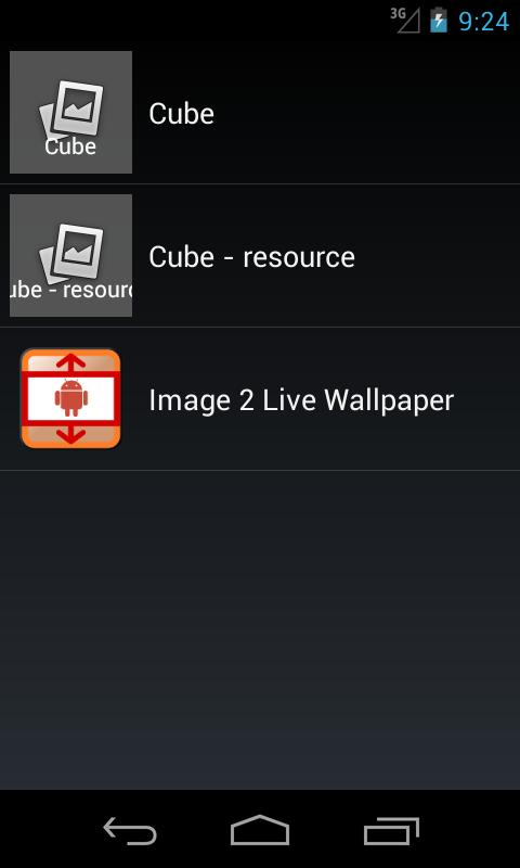 Image 2 Live Wallpaper - screenshot