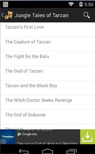 Audio: Jungle Tales of Tarzan
