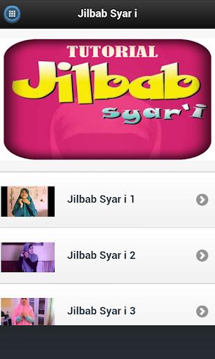 Tutorial Jilbab Syar i