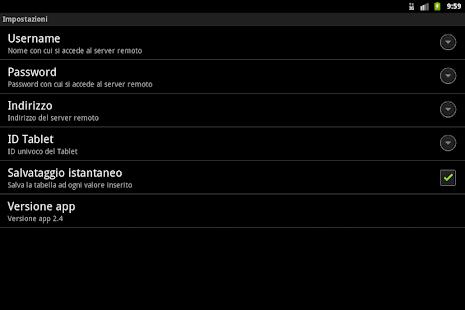 Gestione Inventario - screenshot thumbnail