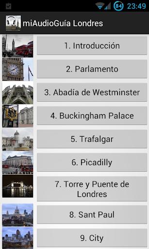 Audio Guía Londres MV