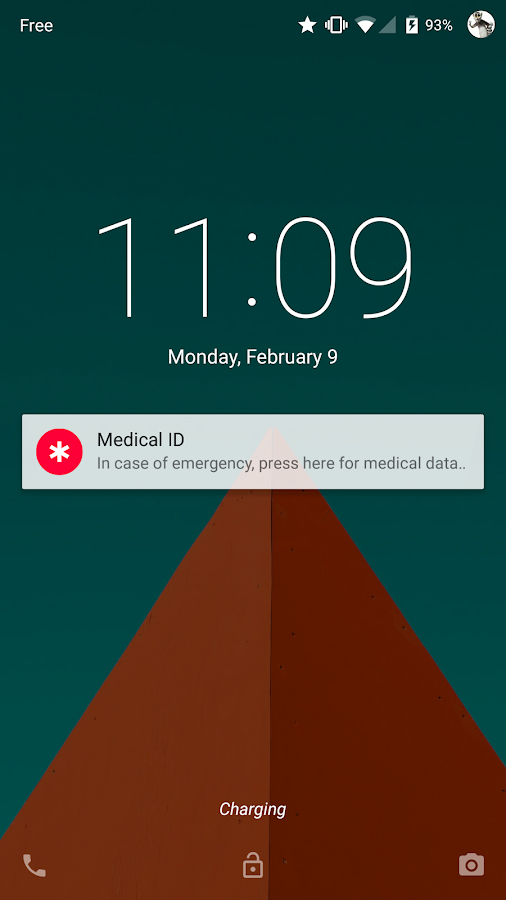 Medical ID (ICE): Emergency - screenshot