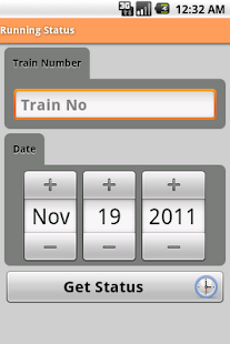 Indian Rail Info App - screenshot thumbnail