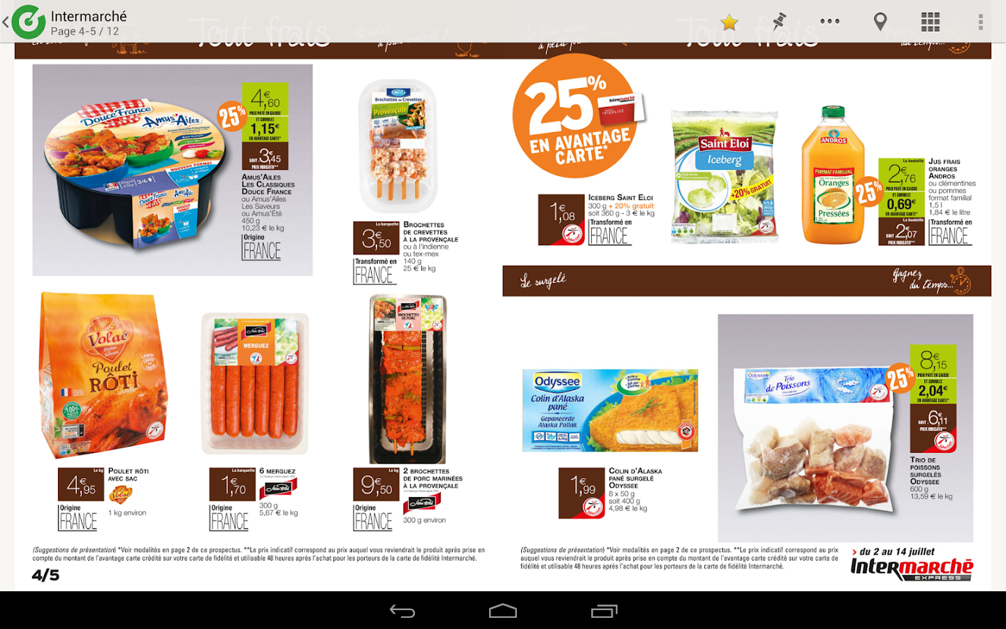 Bonial - Promos & Catalogues - screenshot