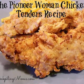 Pioneer Woman Chicken Tenders.