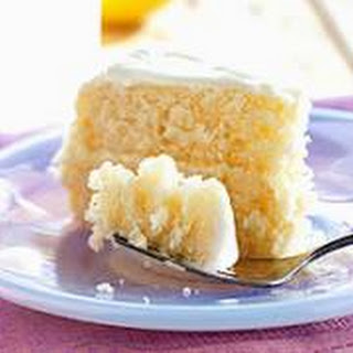 Classic Yellow Cake.