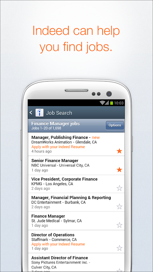 indeed job search screenshot - Indeed Resume Search