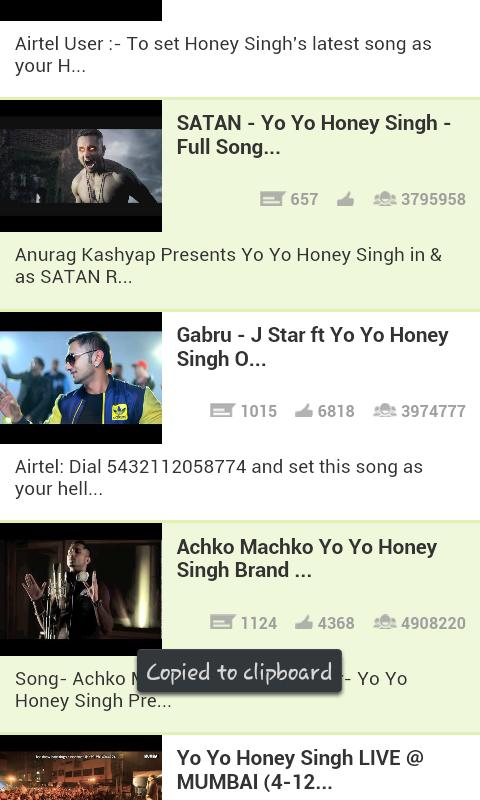 Yo Yo Honey Singh Videos - screenshot