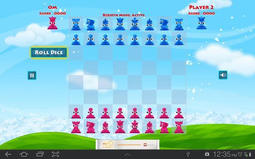 チェスを楽しんで