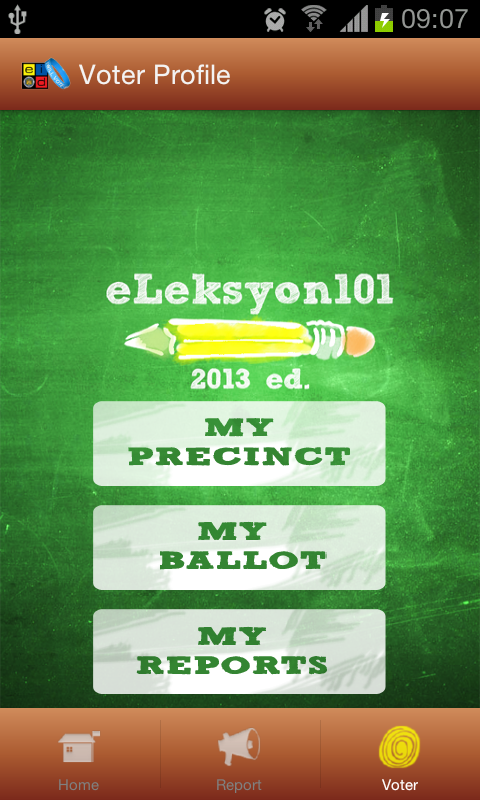 e-Leksyon2013 - screenshot