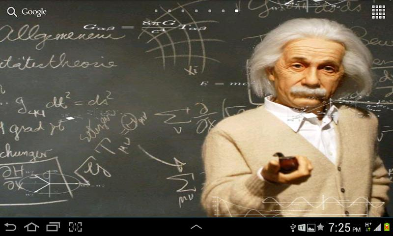 Einstein HD Live WallPaper - screenshot