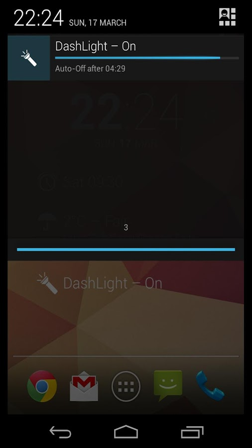 DashLight (Torch/Flashlight)- screenshot