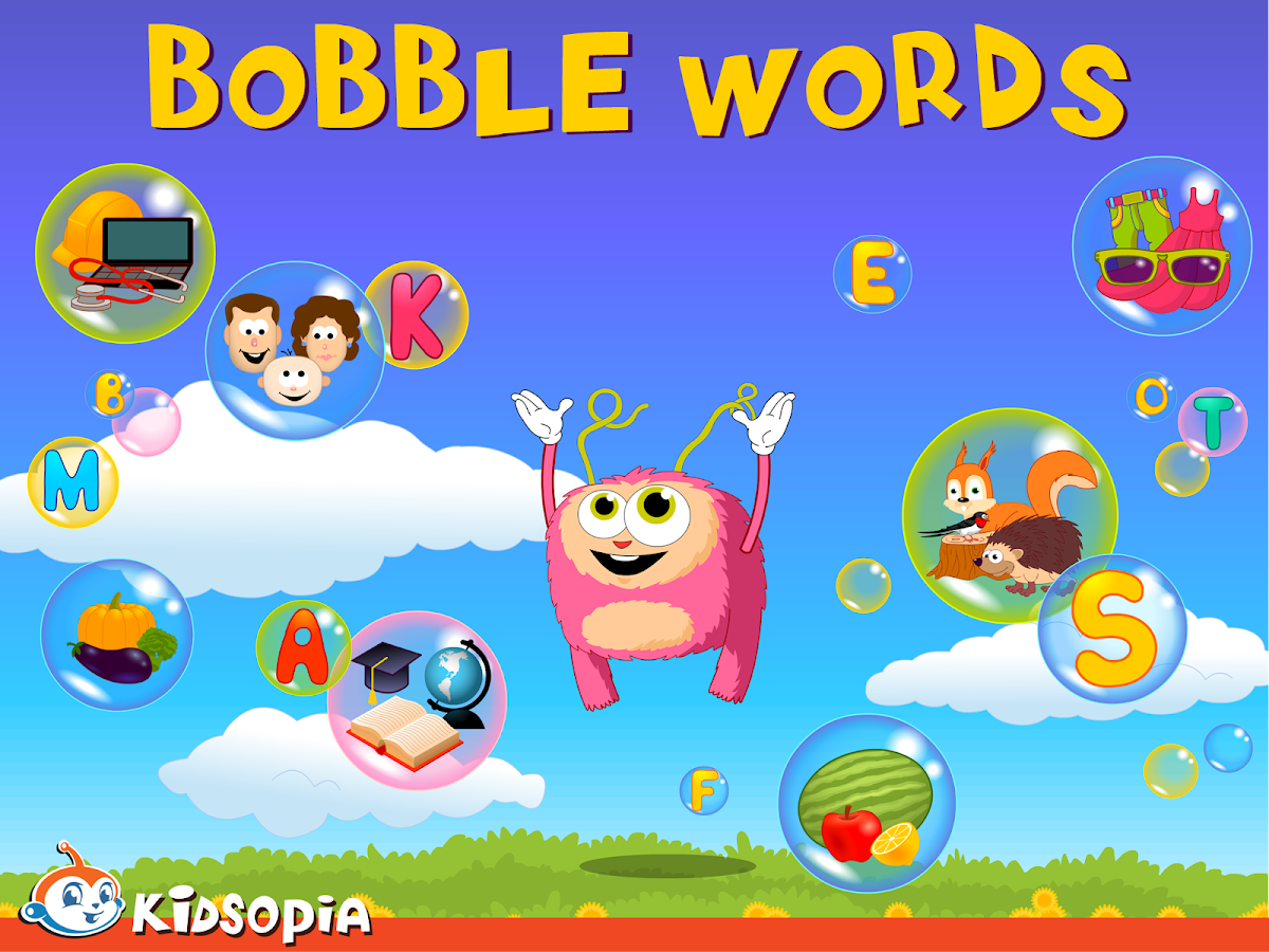 Bobble Words - screenshot