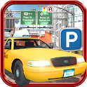 REAL TAXI PARKING SIMULATOR 3D icon