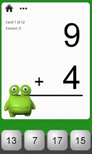 Monster Math Flash Cards- screenshot thumbnail