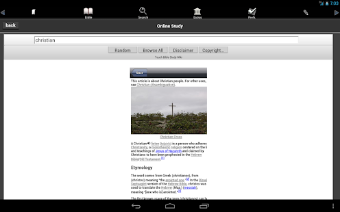 Touch Bible (KJV + Strong's) - screenshot thumbnail