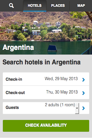 Argentina Hotels Booking Cheap