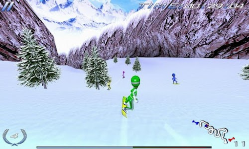 Snowboard Racing Ultimate v1.0