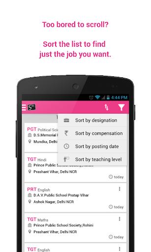 教育必備APP下載 5thSeptember - Teaching Jobs 好玩app不花錢 綠色工廠好玩App
