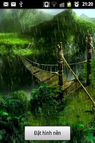 Rain Fall Romantic Lwp