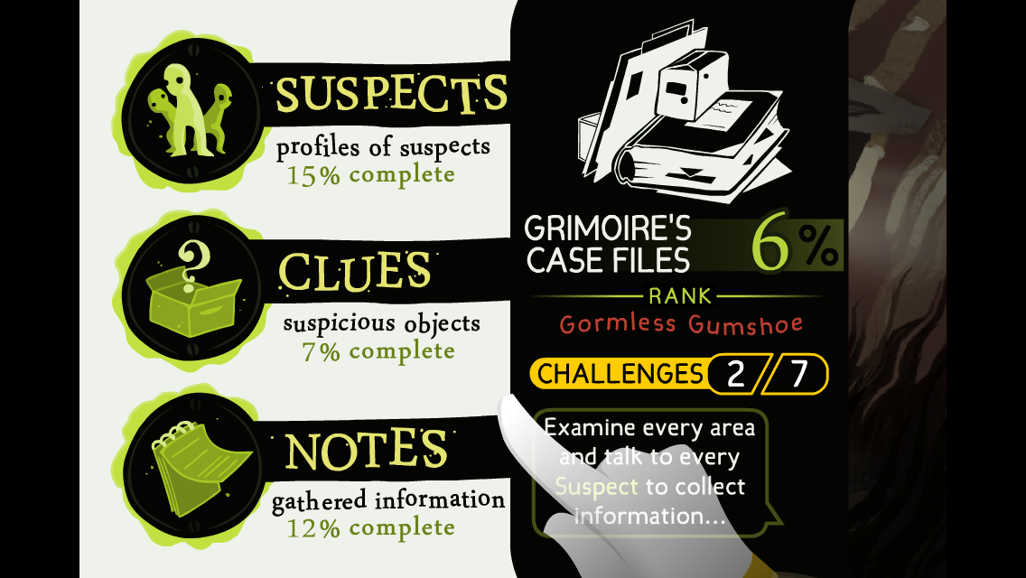 Detective Grimoire- screenshot