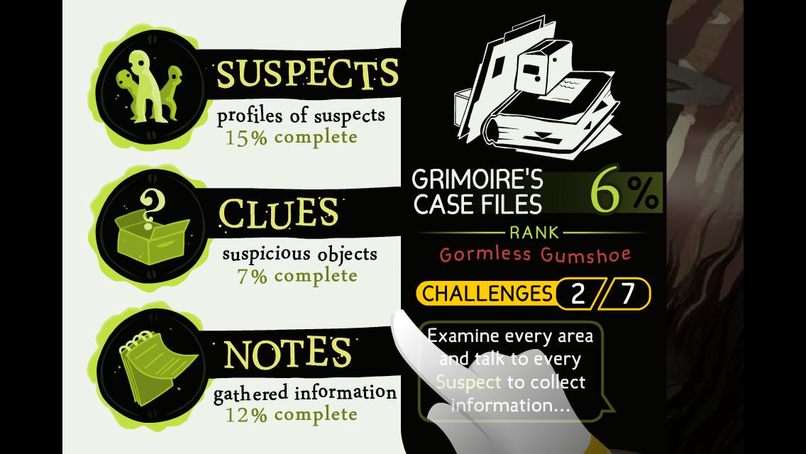 Detective Grimoire screenshot #4