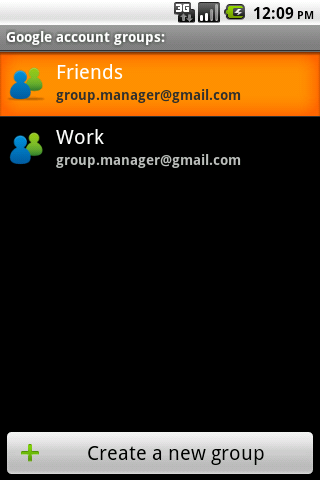 GroupManager Free- screenshot