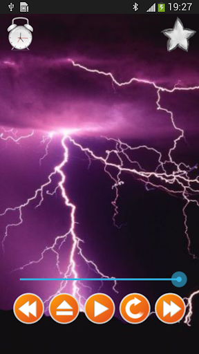 雷暴的聲音