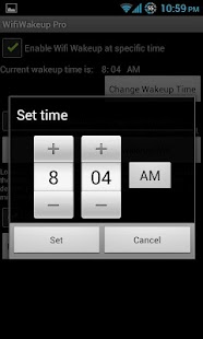 Wifi Wakeup- screenshot thumbnail
