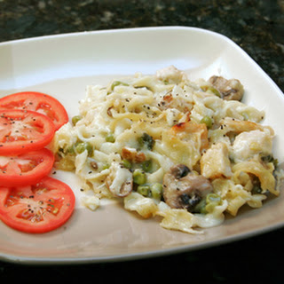 Savory Chicken Noodle Bake
