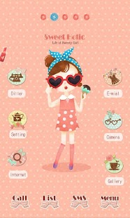 CUKI Theme Icecream Girl