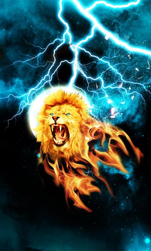 98 Fire Lion Wallpapers Wallpaper Cave Fire Lion Wallpapers Top