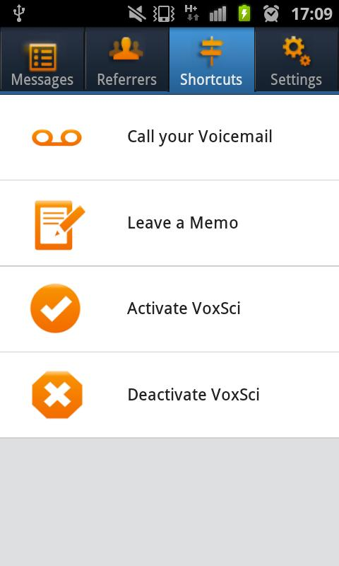 VoxSci™ Voicemail to Text- screenshot