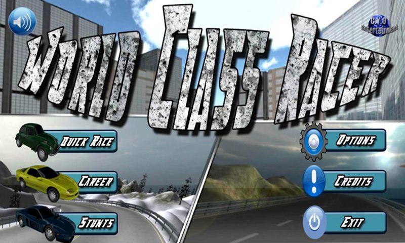 World Class Racer Lite - screenshot