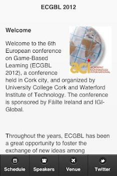 ECGBL 2012