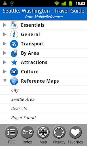 Seattle - FREE Guide Map