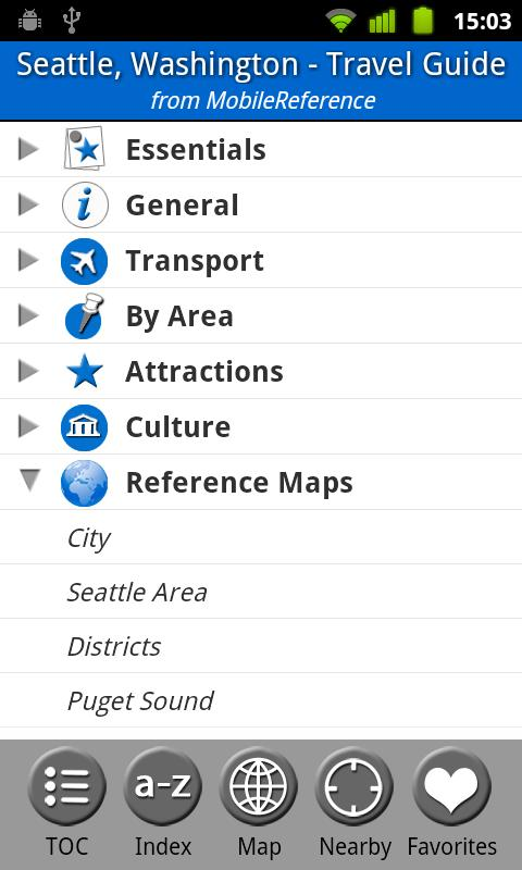 Seattle - FREE Guide & Map- screenshot