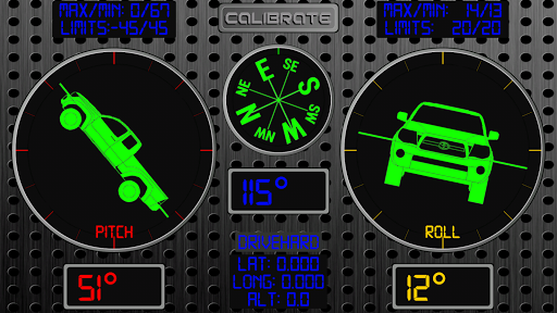 RollMeOver - Inclinometer 4X4 Applications (apk) téléchargement gratuit pour Android/PC/Windows screenshot