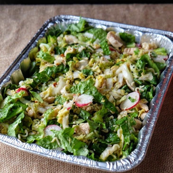 Potluck Asian Chicken Cabbage Salad
