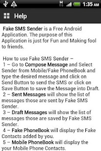 Fake SMS Sender- screenshot thumbnail